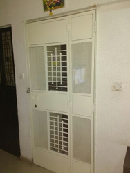 Safety Door With Glass Design