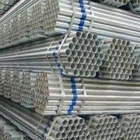 Jindal Gray GI ERW Pipes for Industrial, Size: 3