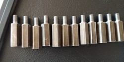 MMT Hex Bolt, Size: 5mm to 25mm