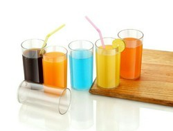 300ML Unbreakable Colourful Glass