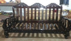 Brown Rosewood Sofa Set