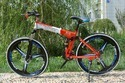 Land Rover Red Folding Bicycle 26 Inches 21 Speed, Size: 27.5
