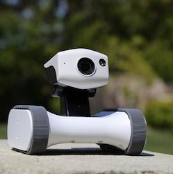 Robotic Home Security Moveable CCTV, Advanced