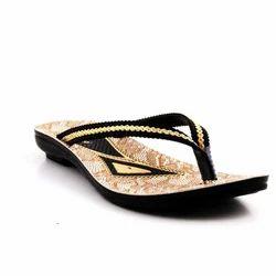 PU Glossy Finish Ladies Slipper