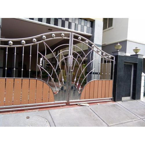 Designer Gates Stainless Steel Designer Gate Manufacturer From Delhi