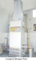Automatic Standard Cryogenic Nitrogen Plant, Capacity: 50 M3/hr To 2000 M3/hr