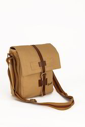 Adjustable Strap Canvas Sling Bag
