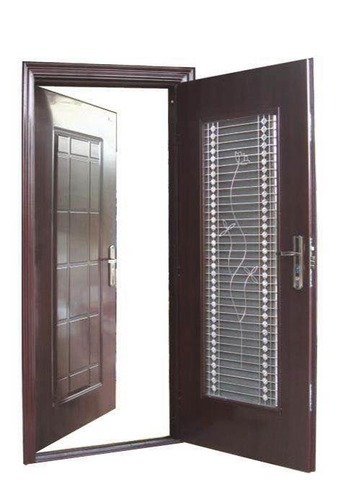 Admirable Safety Double Door Doors And Windows Ms Safety Doors Llp In Largest Home Design Picture Inspirations Pitcheantrous