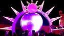 Globe Theme Varmala Stage