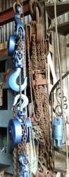 Used Chain Pulley Blocks