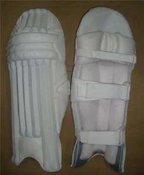 White Cricket Leg Guard