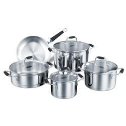 Silver Encapsulated Bottom Cookware Set, For Home And Hotel/Restaurant