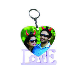 Sublimation Polymer Keychains