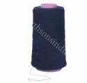 Blue Polyester Wool Blend Yarn, For Garments