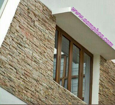 Window Cladding Stone Design 15mm Rs 255 Sft Aamphaa