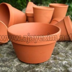Red Custom Shape Garden Pots