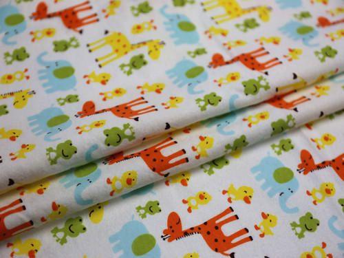 Newborn Baby Flannel Fabric