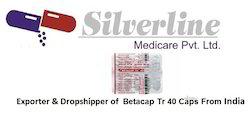 Betacap Tr 40 Pharmaceutical Capsules