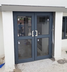 Double Door With 85mm Section