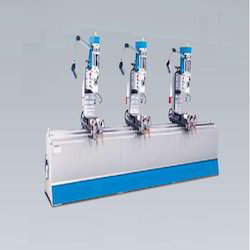 Three Head Drilling Machine