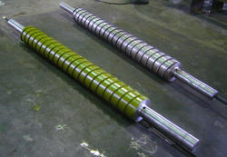 Double Jacketed Spiral Cooling Roller