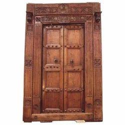 Exterior Antique Wooden Door, Model : AD-2