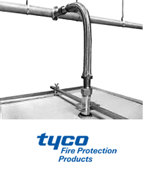 SS304 TYCO Flexible Hose Braided / Unbraided, Packaging Type: Carton, Nominal Size: 1''