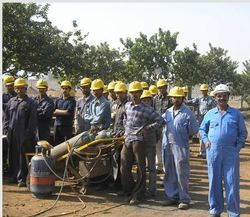 Workers At Work Site