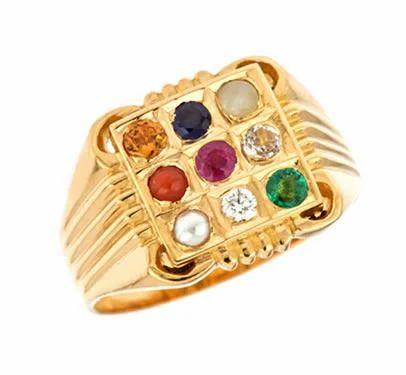 Navratna Ring Ring Shanti Jewellers Jaipur
