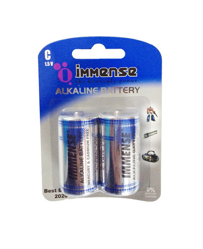 Immense C Lr14 1 5 V Alkaline Battery 12 X 2 Cells