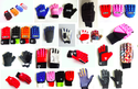 Black Hockey Player Gloves