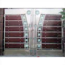 Black Brown Ss Residential Main Sliding Gates Id 3707918562