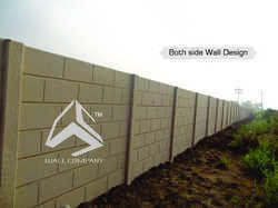 Ready Made Concrete Boundary Wall