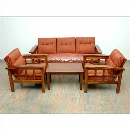 Excellent Wooden Sofa Set 3 1 1 Gamerscity Chair Design For Home Gamerscityorg