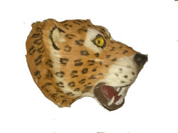 Leopard Leather Head