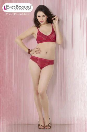 1f86d66af9d6 Red Bra Panty Set at Rs 380 /piece(s)   पैंटी सेट - Kamra ...