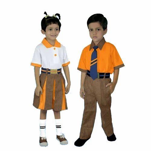 Preschool Uniform बच च क स ल