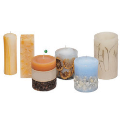 Paraffin Wax Decorative Candle