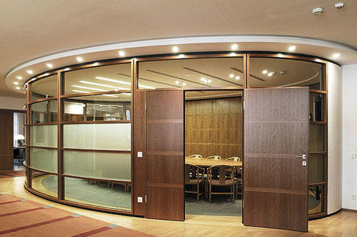 Brown Wooden Office Partition Rs 450 Piece Southern Properties