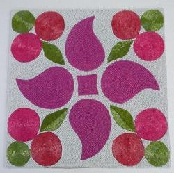 Flower Beaded Placemat