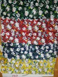 Printed Velvet Fabrics