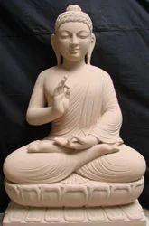 Handecor Multicolor Gautam Buddha Statue