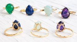 Gemstone Prong Set Ring