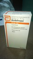 Amphoterican B Ambihope Injection, Packaging Type: Box