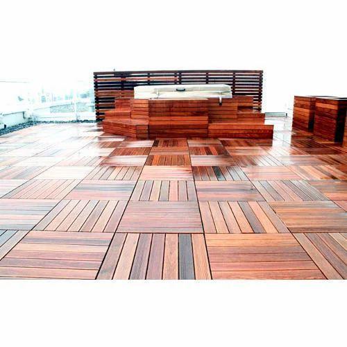 Ipe Deck Tiles