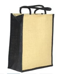 Ayesha Leather Works Jute Lunch Bag