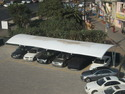 Membrane Tensile Fabric Multi Car Parking Structures