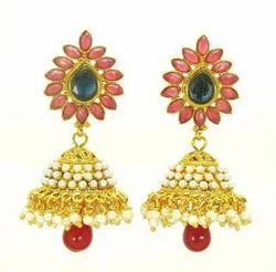 Gold Designer Earring
