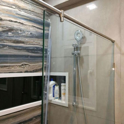 Shower Glass Partition At Rs 350 Square Feet शावर
