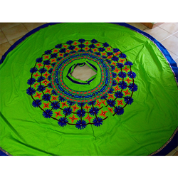 Laboni Handicrafts Green Popatiyu Ghagra Choli, Handwash